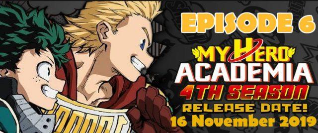 My Hero Academia Season 4 Episode 6 Watch Online My Hero