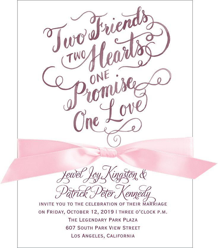 One Promise - Invitation | Pinterest | Watercolor lettering, Floral ...