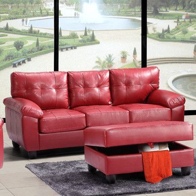 Glory Furniture Moran Sofa Upholstery:   Products   Pinterest   Sofa ...