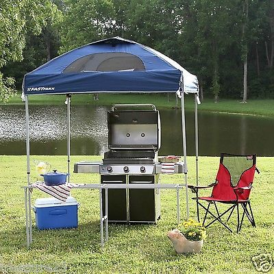 EZ POP UP CANOPY PARTY TENT GAZEBO Tailgating Vending Extra Shelf 6u0027x6u0027 # & EZ POP UP CANOPY PARTY TENT GAZEBO Tailgating Vending Extra Shelf ...