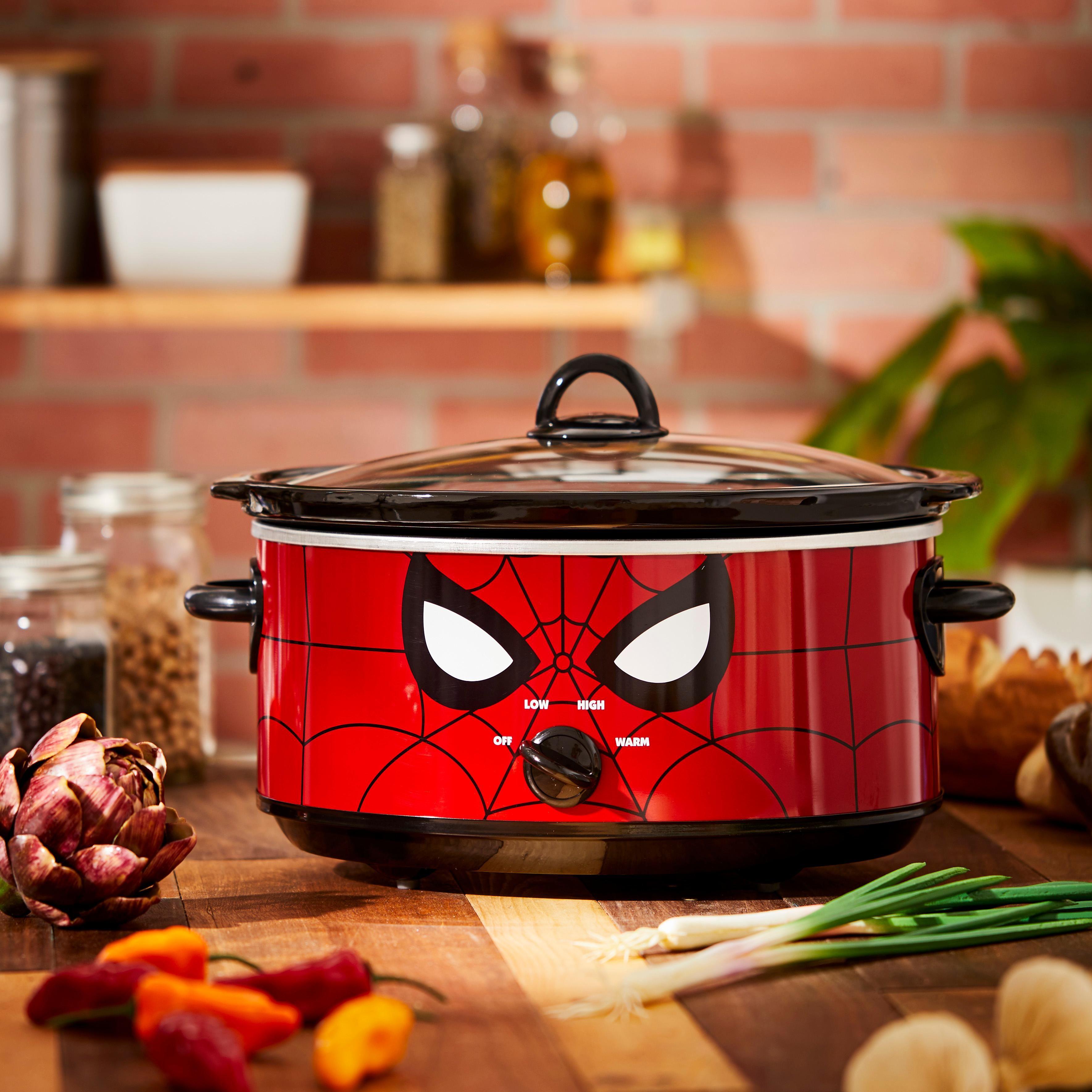 Marvel SpiderMan 7 Quart Slow Cooker Slow cooker crock