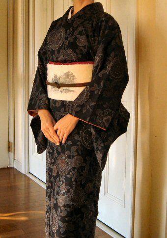 Japanese Kimono Oshima