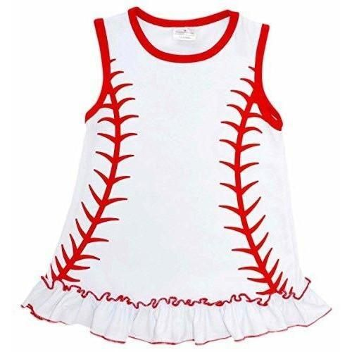 64054fb61bcd Girls Baseball Shirt with Ruffle in 2018 | Products | Pinterest ...
