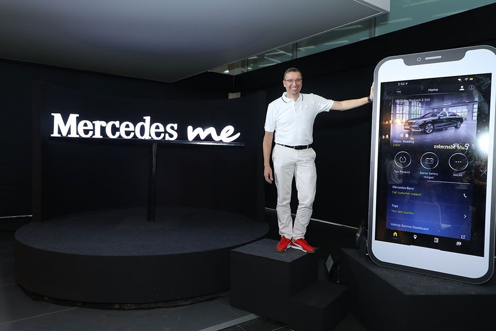 Mercedes Benz Announces Mercedes Me Connect To Digitize Entire Customer Experience Mercedes Benz India Mercedes Benz Mercedes