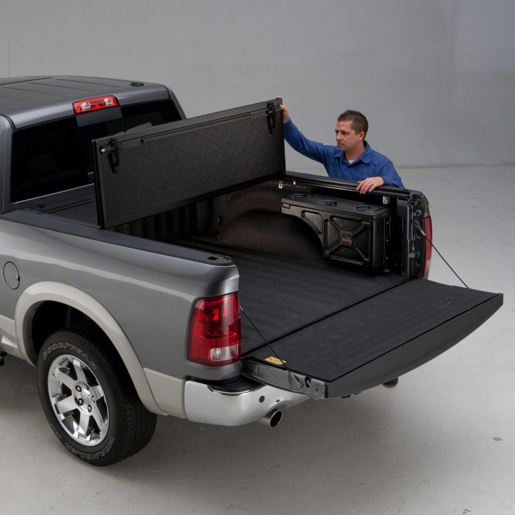 Top 4 Best Hard Tri Fold Tonneau Covers For Dodge Ram 2500 3500 Reviews Buying Guide Trucks Enthusiasts In 2020 Tonneau Cover Truck Bed Covers Truck Bed