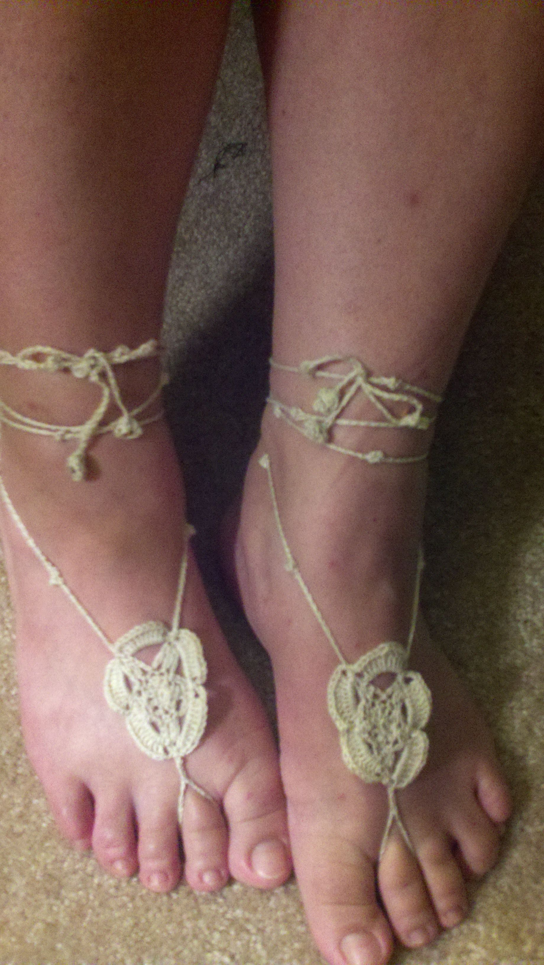 'A Star is Born' My first barefoot sandal design.