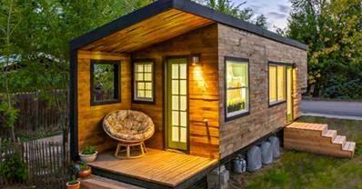 wood trailer