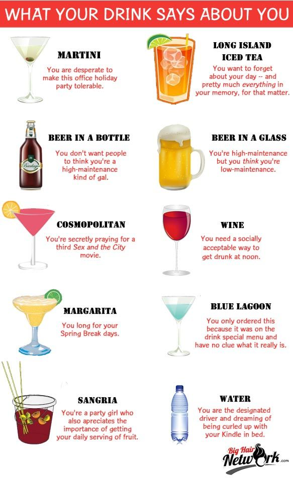 what does your drink say about you