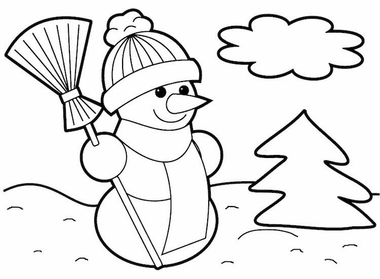 Coloriage de Noël à imprimer gratuit - 40 dessins que vos petits adoreront ! | Coloriage noel ...