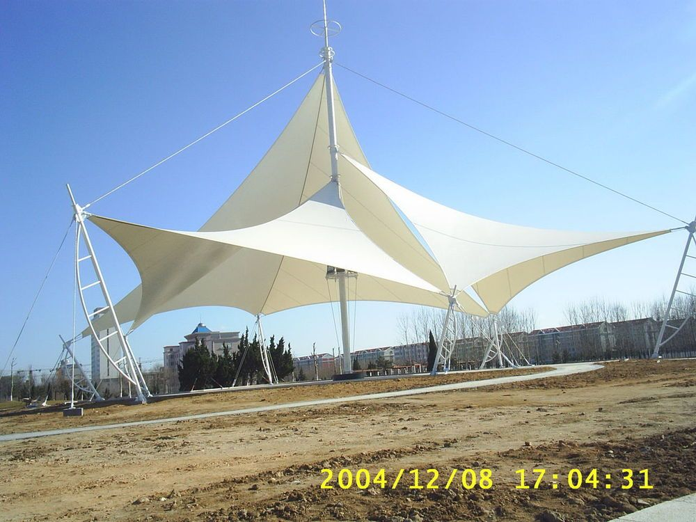 Tension Fabric Structures : Architecture commercial tension fabric structure membrane