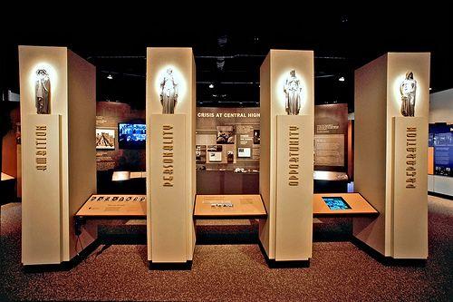 Central High School Museum - inside - Little Rock Arkansas