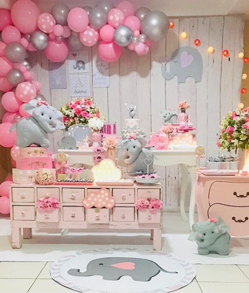 Baby Shower Nina Elefante Decoracion.Ideas De Decoracion Para Tu Fiesta De Baby Shower Con