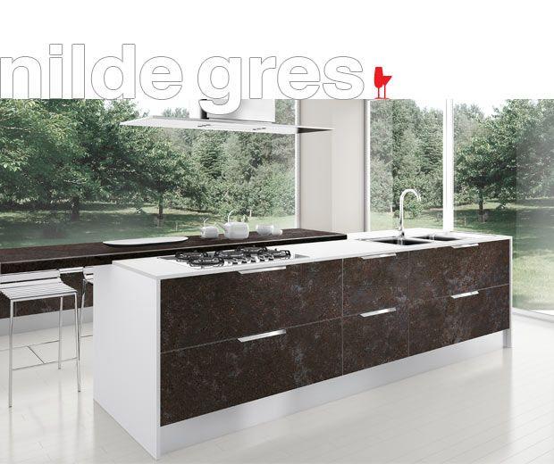 ▷ Современные модели Cucine LUBE Italy - Модель Nilde Gres ...