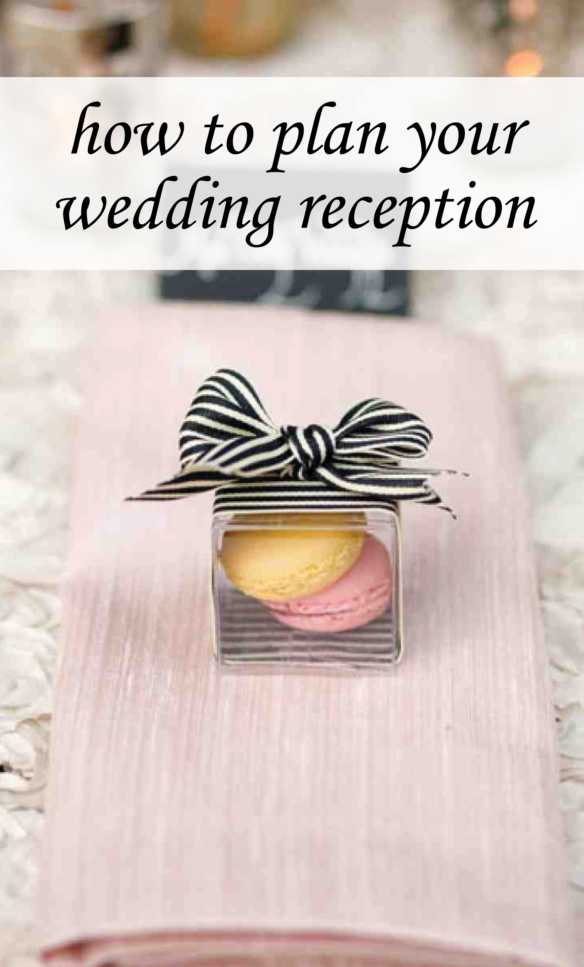 Don't Overlook Small Details | Martha Stewart Weddings - A few well-placed touches, such as monogrammed cocktail napkins or a palette-friendly favor at each table setting, can go a long way toward making your party look extra-special.