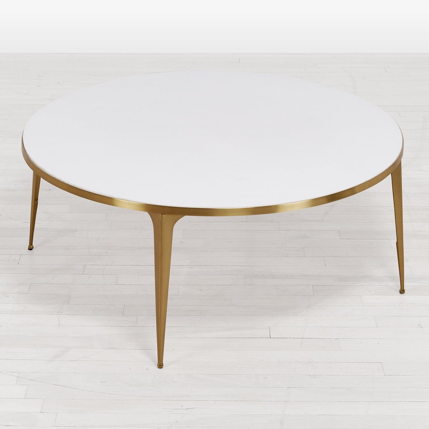 kate spade new york Marble Coffee Table White, Brass Floor Sample ...
