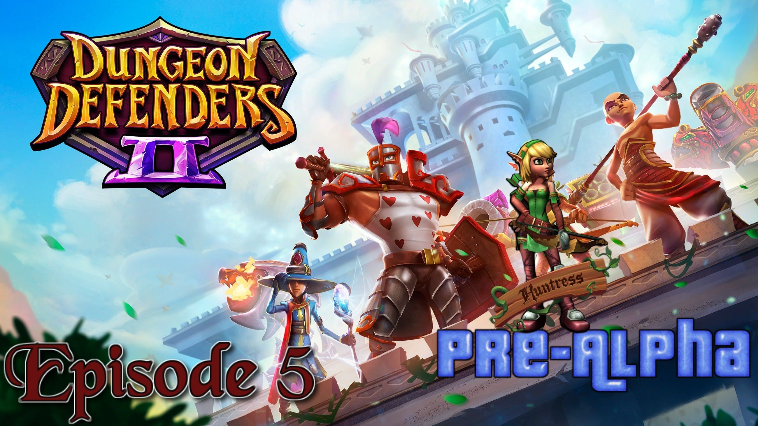 Dungeon Defenders 2 PS4 PreAlpha Episode 5 (With images