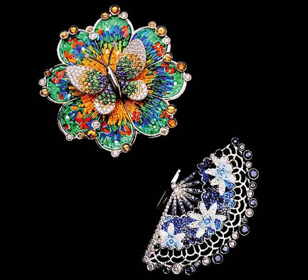 Micro Mosaic Jewelry | SICIS Lunched Micro-mosaic and Gems Jewellery at Baselworld ...