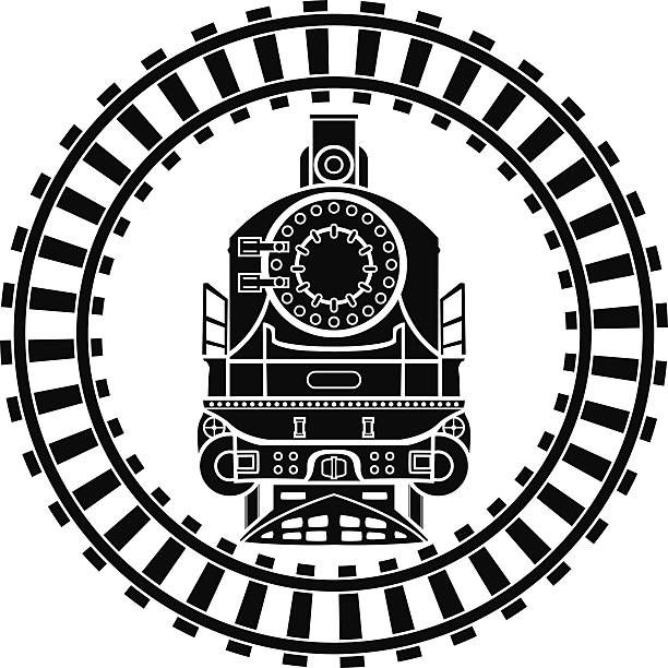 Image Result For Curved Train Track Clipart