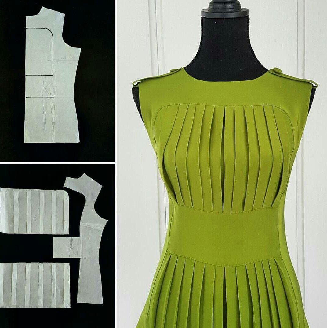 Vestido | Patterns | Pinterest | Kleider, Damen und Schnittmuster
