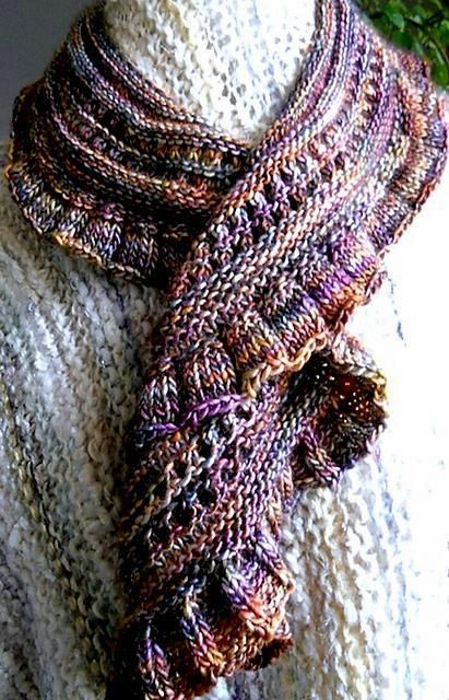 Row Scarf Or Shawl Knitting Patterns And Tips Pinterest