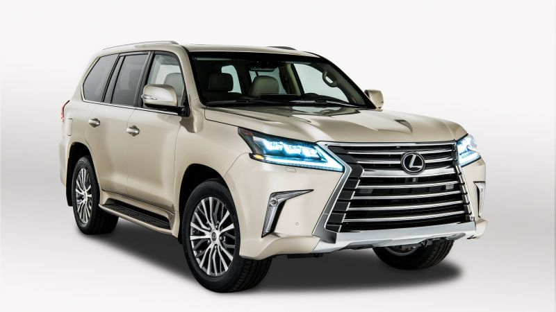 New Lexus Lx 570 Gets A New Less Expensive Two Row Option With
