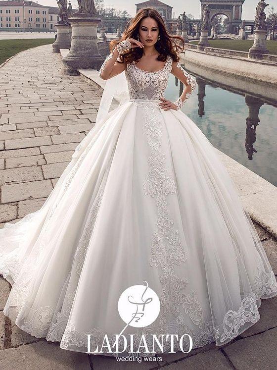38a850aab2b Пышное свадебное платье
