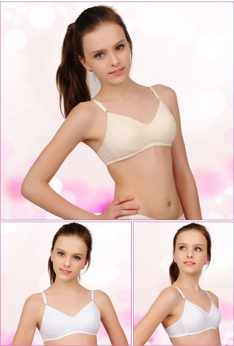 Double 11 big girl promote zhukova garment made of pure cotton bra ...