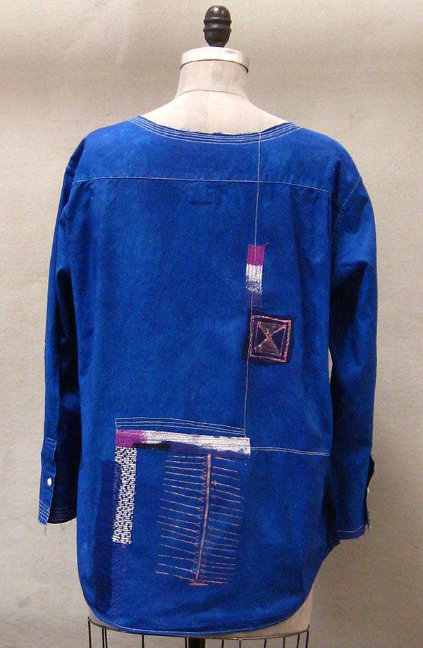 Blue Djelaba Jacket   Holly Badgley Design