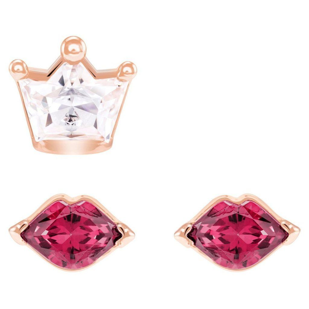 f04bc9942 Swarovski Out of this World Kiss Pierced Earrings, Red, Mixed plating,  5456137 |Duty Free Crystal | Duty Free Crystal