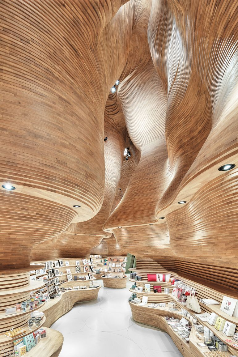 National Museum of Qatar Gift Shop by Koichi Takada Architects: 2019 Best of Year Winner for Mixed Retail