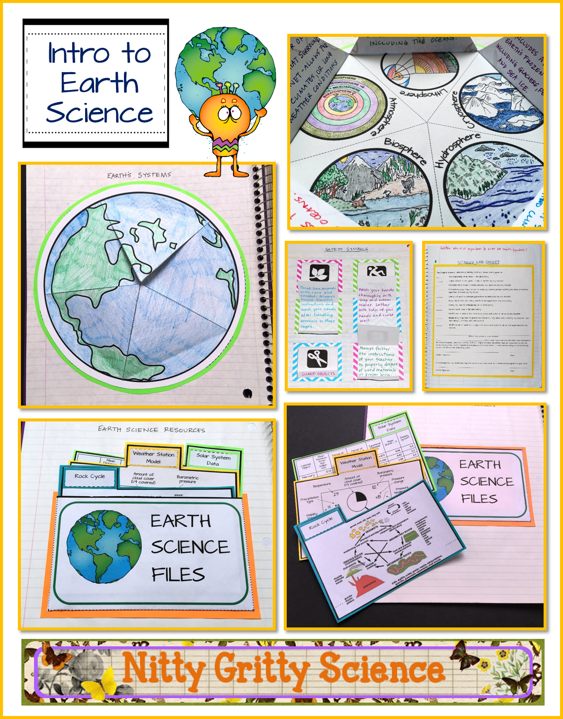 Intro To Earth Science Earth Science Interactive Notebook