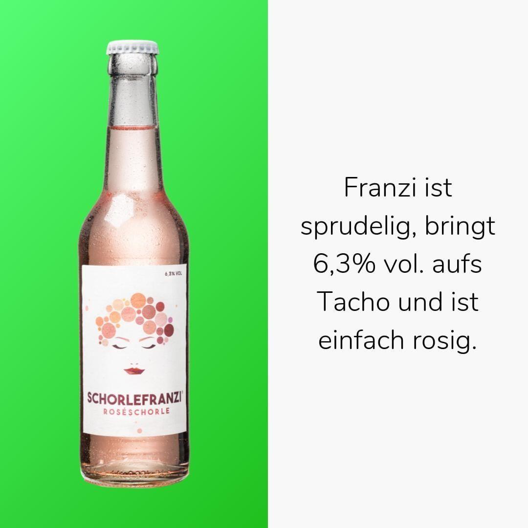 Schorlefranzi Ist Die Leckere Roseschorle Fur To Go Die Weine Fur Die Schorlen Von Schorlefranz Kommen Aus Rheinhessen Vo Weinschorle Deutscher Wein Schorle