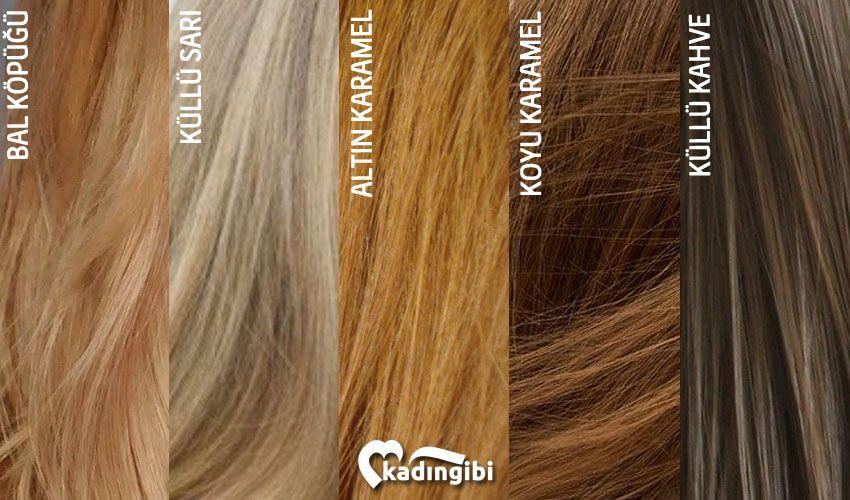 Bal Kopugu Sac Rengi Katalogu Sac Renkleri Sac Bal Rengi Sac Renkleri