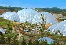 Eden Project Close To Newquay Engeland Hekserij