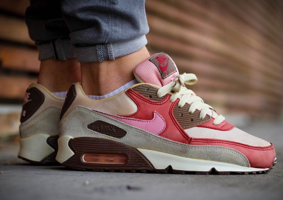 """Nike x DQM Air Max 90 """"Bacon"""" Set to re release March 2020"""