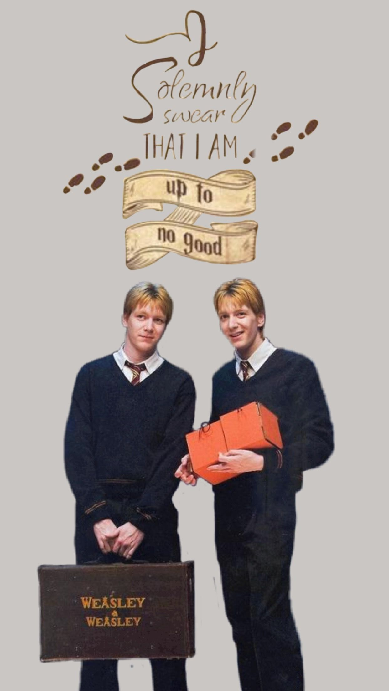 Harry Potter Wallpaper Harry Potter Wallpaper Weasley Twins Harry Potter Pictures