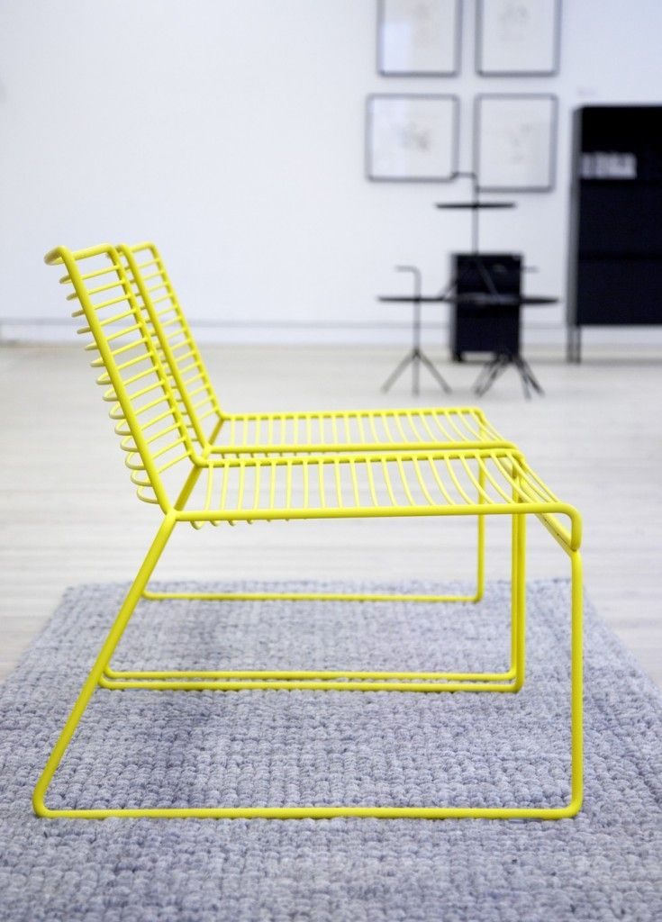 Un fauteuil bas pour ma terrasse et pour mon salon Neon