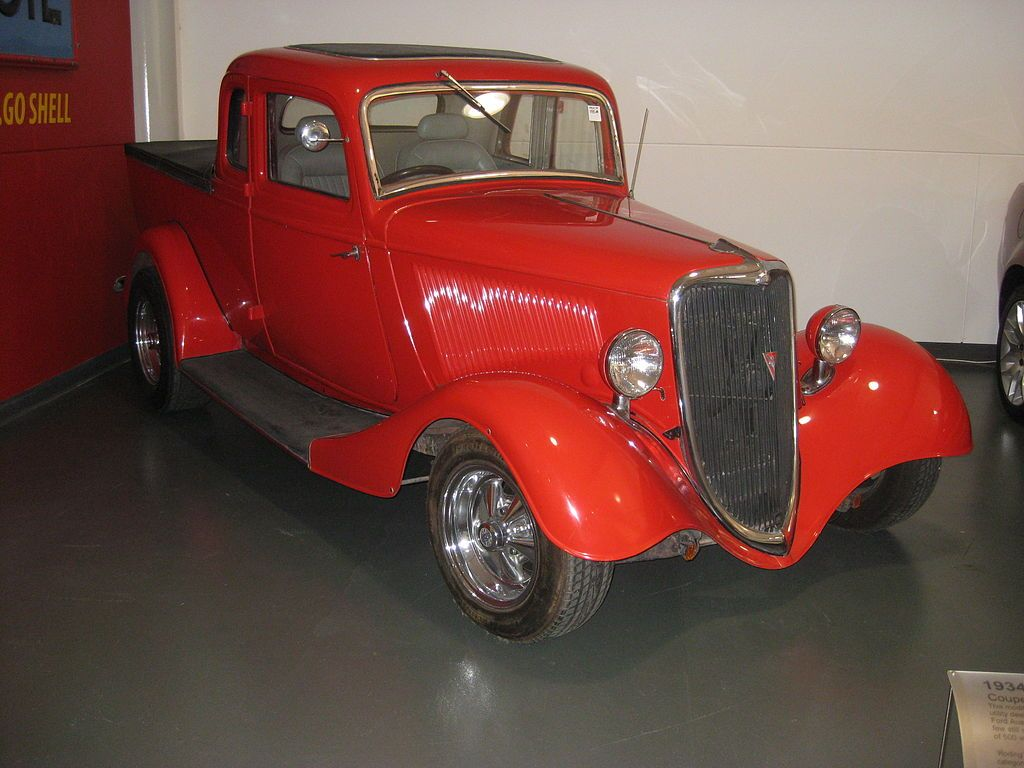 1934 Ford Coupe Utility Ute Vehicle Wikipedia The Free