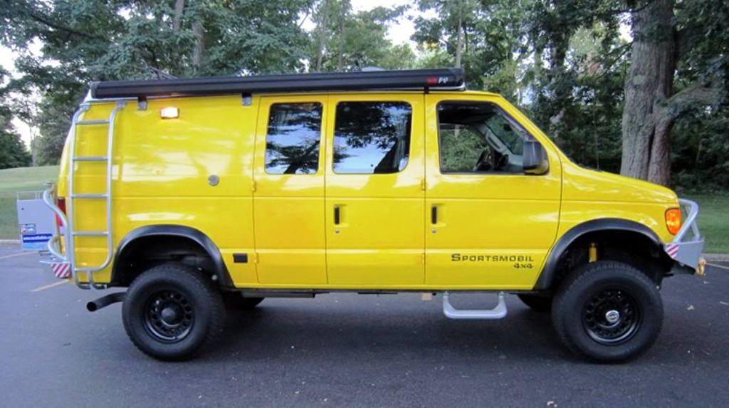 2007 Ford E350 Super Duty 55 800 Miles 10 850 Cargo Vans For