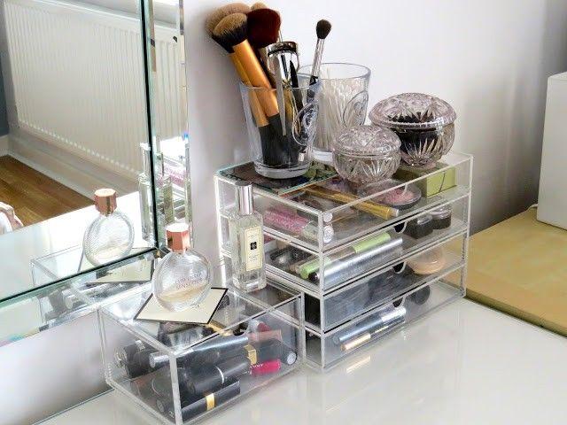 Muji Makeup Organizer Mesmerizing Acrylic Cases MUJI Acrylic Makeup Organizer Organization