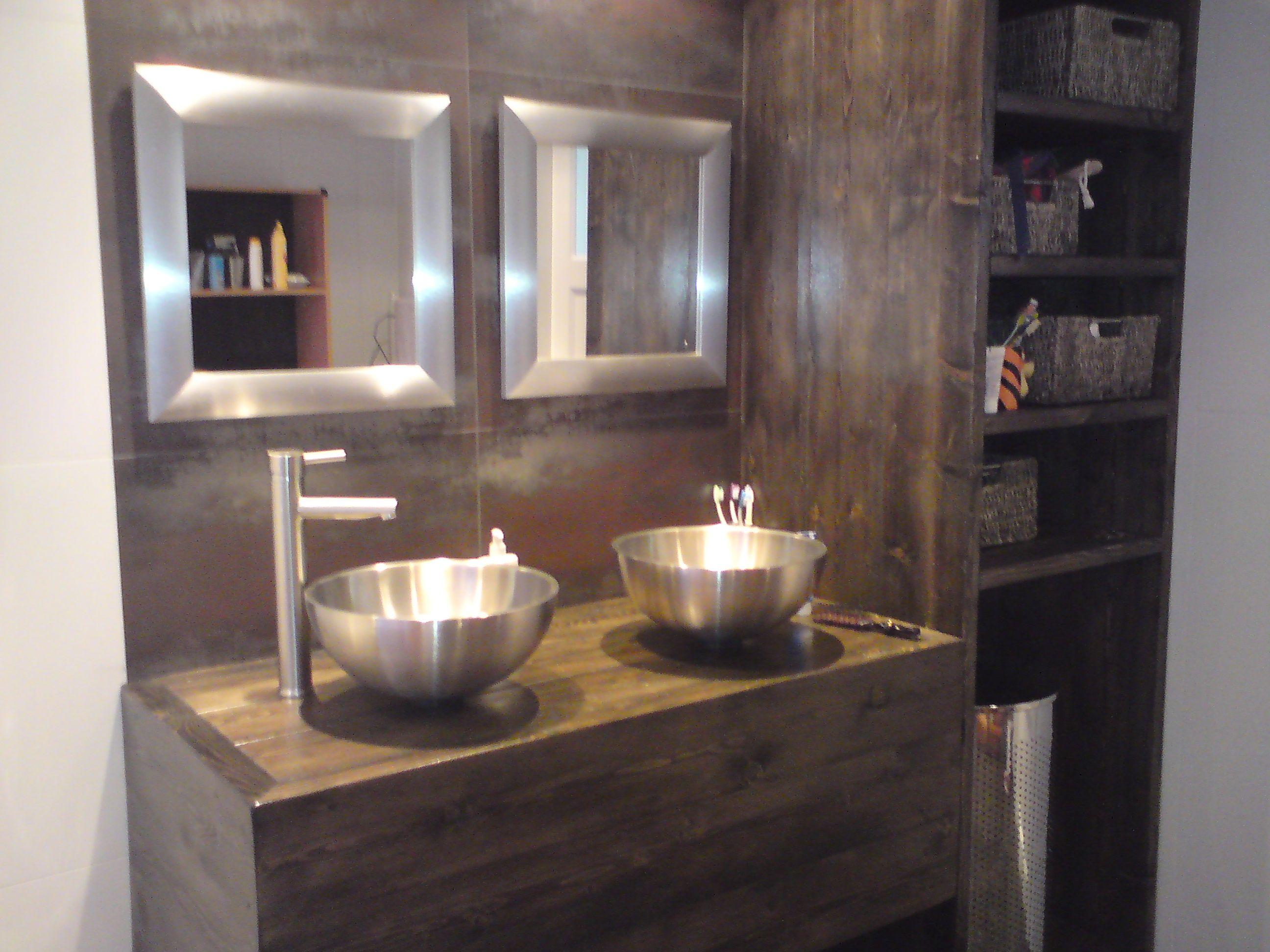 steigerhout interieur google zoeken badkamer pinterest