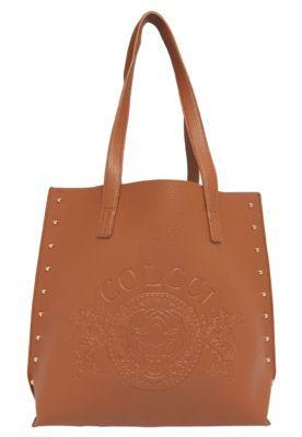 ea6733893 Bolsa Tote Colcci Brasão Caramelo | Bags | Bags, Bag Accessories e ...