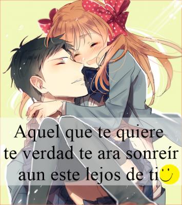 Imagenes De Animes De Amor Con Frases Bonitas Y Romanticas
