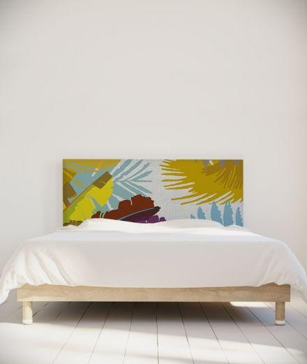 Coco Hellein Tete De Lit Bananier Avec Images Tete De Lit Decoration Maison Lit