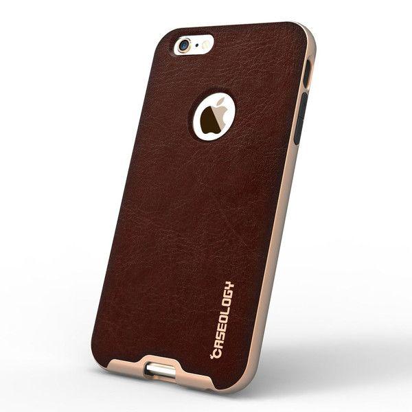 separation shoes 46a03 f400a iPhone 6 Plus Case iPhone 6 Plus Case Bumper Frame - Leather Cherry ...