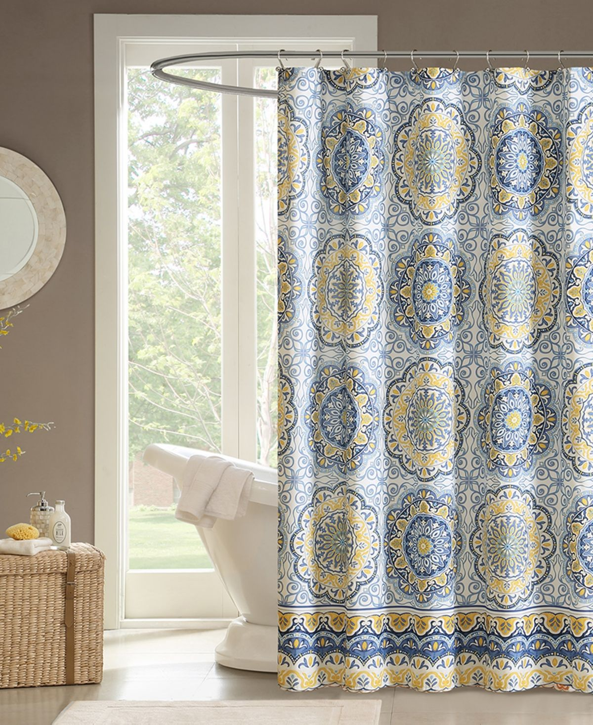 Madison Park Tangiers 72 X 72 Shower Curtain Reviews Shower