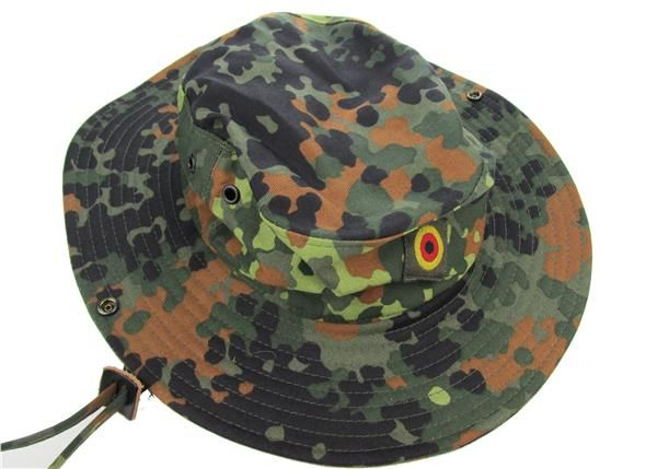ae715bedf1d German Army Flecktarn Boonie Hat. Limited availability of genuine European  Military Surplus German Army Boonie Hats in Flecktarn Camouflage