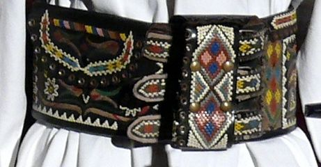 This intricate belt was made by a Hungarian shepherd circa 1920.  I hope young people will keep these traditional crafts alive,.