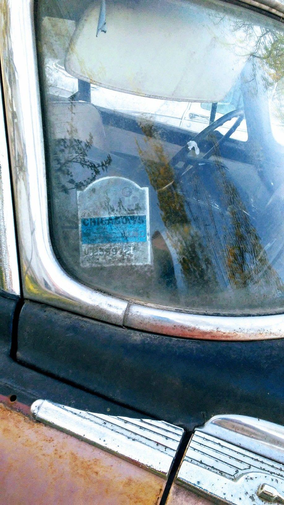1975 City Of Chicago Vehicle Sticker Garaged Time Warp Garage Time Airplane View Time Warp [ 1632 x 918 Pixel ]