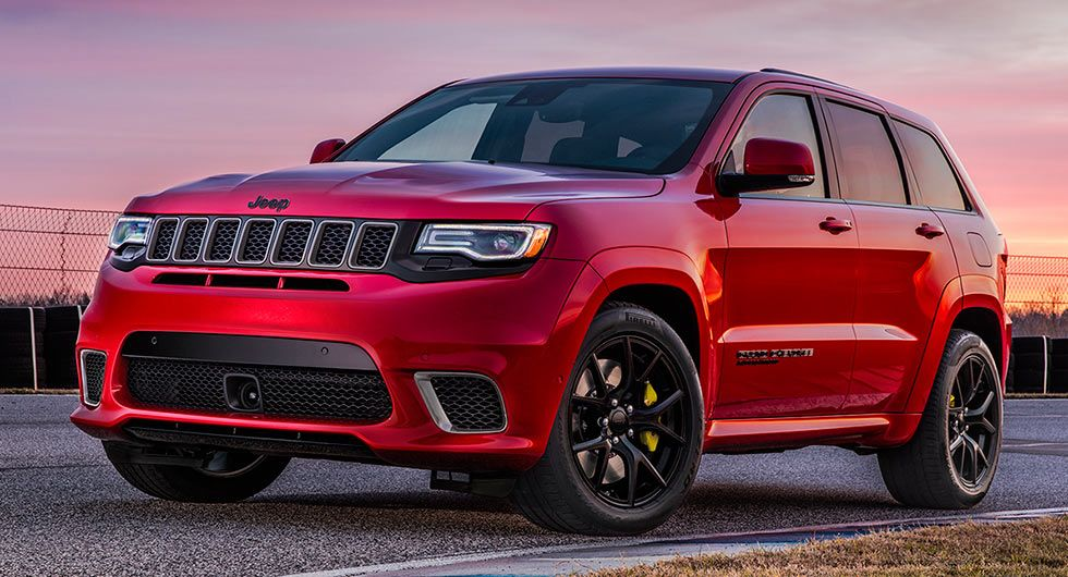 2018 Jeep Grand Cherokee Trackhawk Is One Hell Of A Cat, Does 0 ...